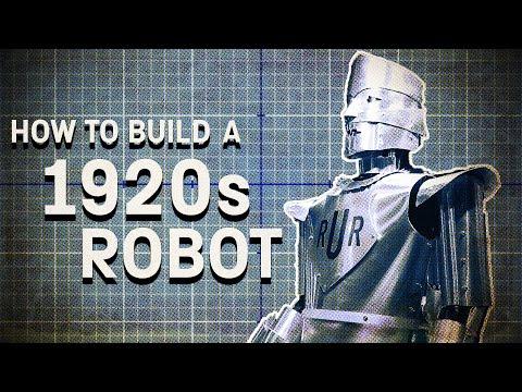 Recreating Eric  The UK's First Robot