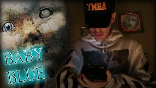 (SCARY) BABY BLUE CHALLENGE GONE WRONG! || PLAYING BABY BLUE GAME AT 3 AM! 3 AM CHALLENGE
