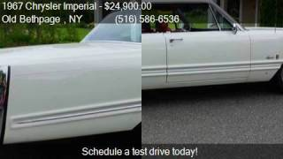 1967 Chrysler Imperial Crown Coupe for sale in Old Bethpage
