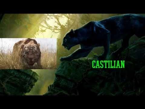 The Jungle Book 2016 Trailer- Bagheera and Shere Khan Multilanguage