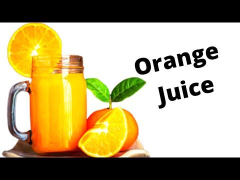 খুব সহজে বাড়িতেই তৈরী করুন কমলার জুস। ।  Make orange juice at home very easily.  