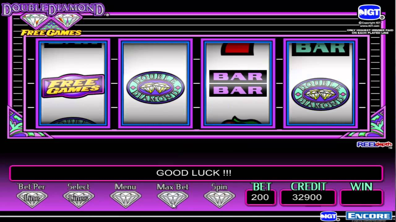 Free online slots double diamond ptr poker