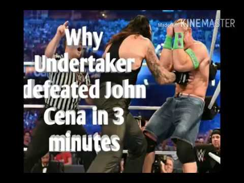 Download Why Undertaker defeated John Cena in 3 minutes by Suplex City