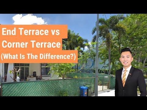 End Terrace vs Corner Terrace | Landed Property For Sale Singapore | Landed Property Singapore