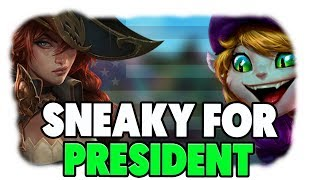 C9 Sneaky | SNEAKY FOR PRESIDENT