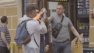 НАГЛЫЙ ВАНДАЛ ПРАНК / вджобыватели розыгрыш на 1 апреля job prunk