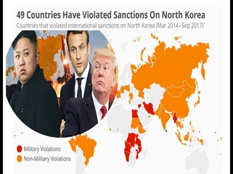 49 countries have broken sanctions with North Korea || World News  Radio