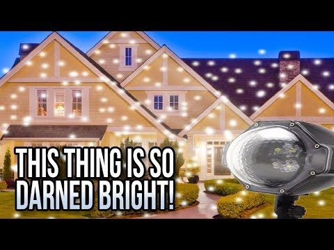 Laser Christmas Lights & Outdoor Holiday Projectors 🎄🎄🎄🎄🎄