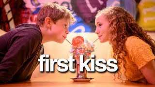 My Son's First Kiss **sweet**