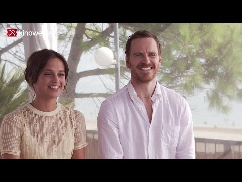 Interview Alicia Vikander & Michael Fassbender THE LIGHT BETWEEN OCEANS