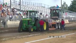 21,000LB FARM STOCK TRACTORS ELKHART COUNTY, INDIANA FAIR JULY 28,, 2016