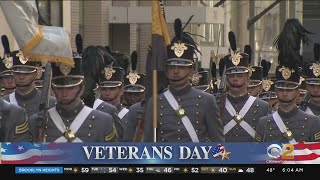 NYC Hosts 100th Annual Veterans Day Parade