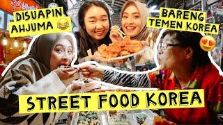 Download MUKBANG KOREAN STREET FOOD 🔥 GWANGJANG MARKET | FT. YUNA NUNA | BIANCA KARTIKA