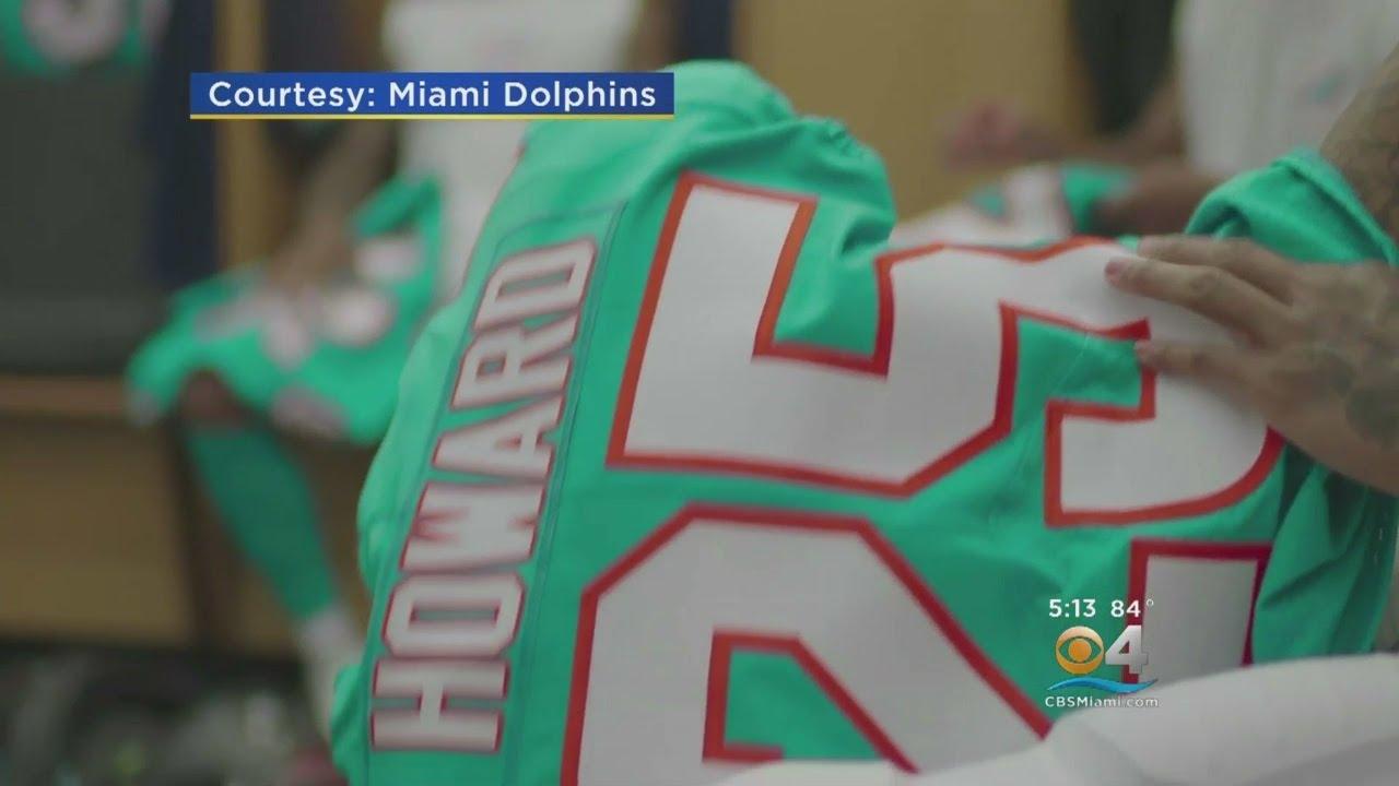 079c4edc22c Miami Dolphins Unveil New 'Historically Modern' Uniforms - YouTube