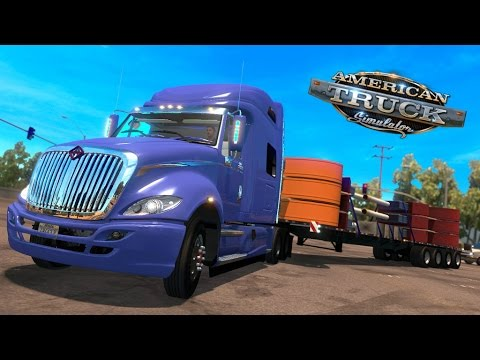 American Truck Simulator | International ProStar | 40 Tons Anuncios Motel