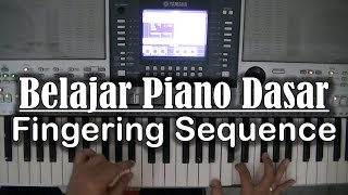 Belajar Piano Dasar - Fingering Sequence   Teguh Channel