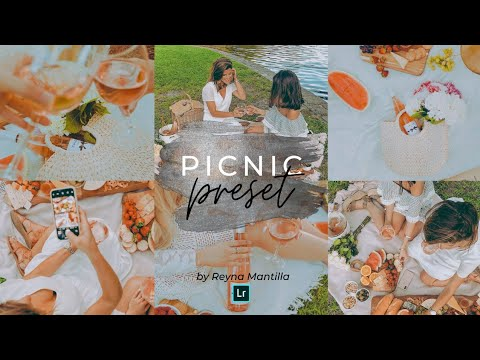 How to edit PICNIC PRESET Lightroom Mobile Tutorial Free DNG & XMP