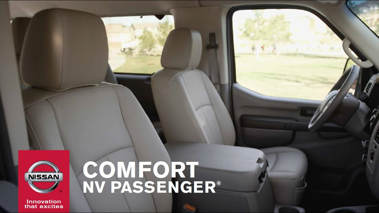 Nissan Nv Passenger >> 2015 Nissan NV Passenger Van - Interior Comfort - YouTube