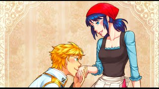 """The Slipper"" Cinderella AU Episode 8 Miraculous Ladybug Comic Dub"