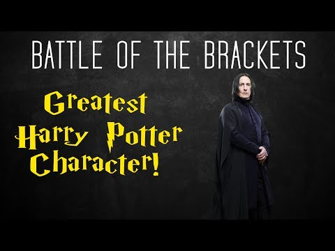 Battle of the Brackets! #6 Best Harry Potter Character - Harry Potter Month