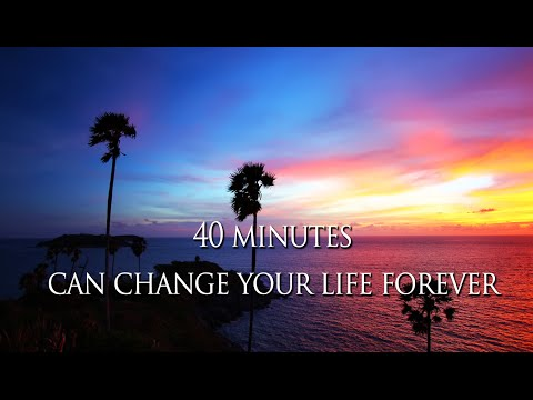 Louise Hay - 40 mins everyday to CHANGE your life FOREVER -