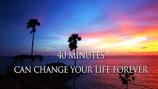 Louise Hay - 40 mins everyday to CHANGE your life FOREVER - Audiobook meditation