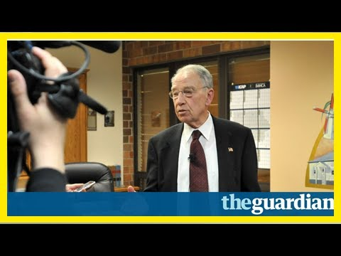 Chuck grassley attempts to clarify 'booze or women' estate tax comments
