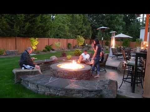 Fascinating outdoor fire pits