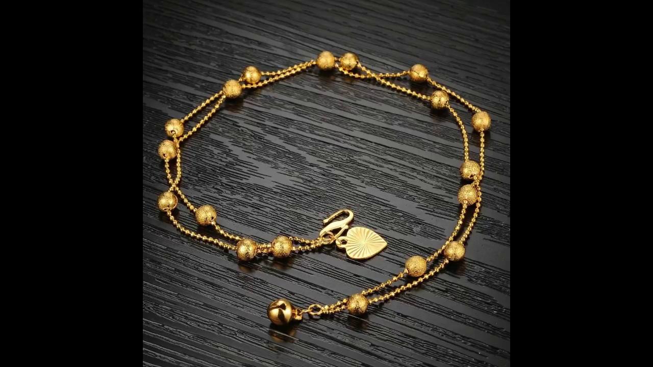 4 Gram Latest Light Weight gold bracelet designs for girls ...