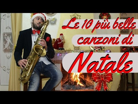TOP 10 CANZONI DI NATALE (Cover Sax Daniele Vitale) Top 10 songs of Christmas