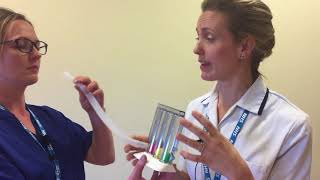 Using Incentive Spirometry