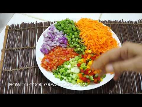 Easy Mixed Bean Salad Recipe Vegan healthy Simple