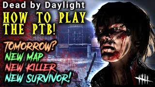 How to play the PTB! (PC) [#256] Dead by Daylight with HybridPanda