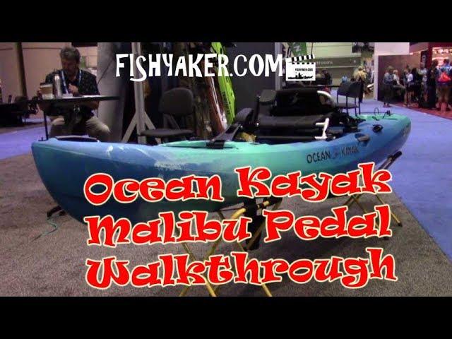 Ocean Kayak Malibu Pedal Kayak Walkthrough - ICAST 2017: Episode 542