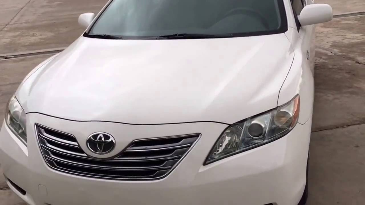 2007 Toyota Camry Hybrid Full Option Sold