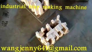 paper forming industrial tray making machine-0086-15153504975