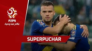 Superpuchar: Legia Warszawa - Arka Gdynia (skrót meczu)