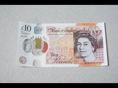 New UK Polymer £10 Note!