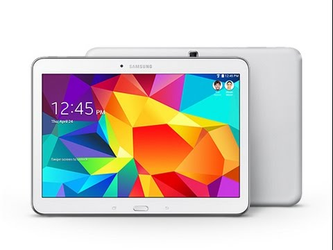 """I forgot my Galaxy tab password. How to factory reset/Review of Galaxy Tab 4 10.1"""""""