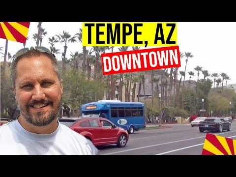 Downtown Tempe, AZ, Tempe Town Lake & Mill Avenue: Living In Phoenix, Arizona Suburbs