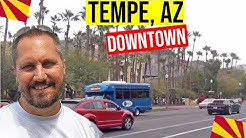 Tempe, Arizona Tour (Downtown): Mill Ave | Moving / Living In Phoenix, Arizona Suburbs (Tempe, AZ)