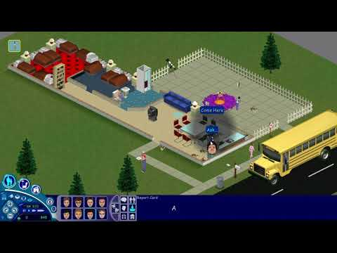 Sims 1- 8 Kids, Home Alone |