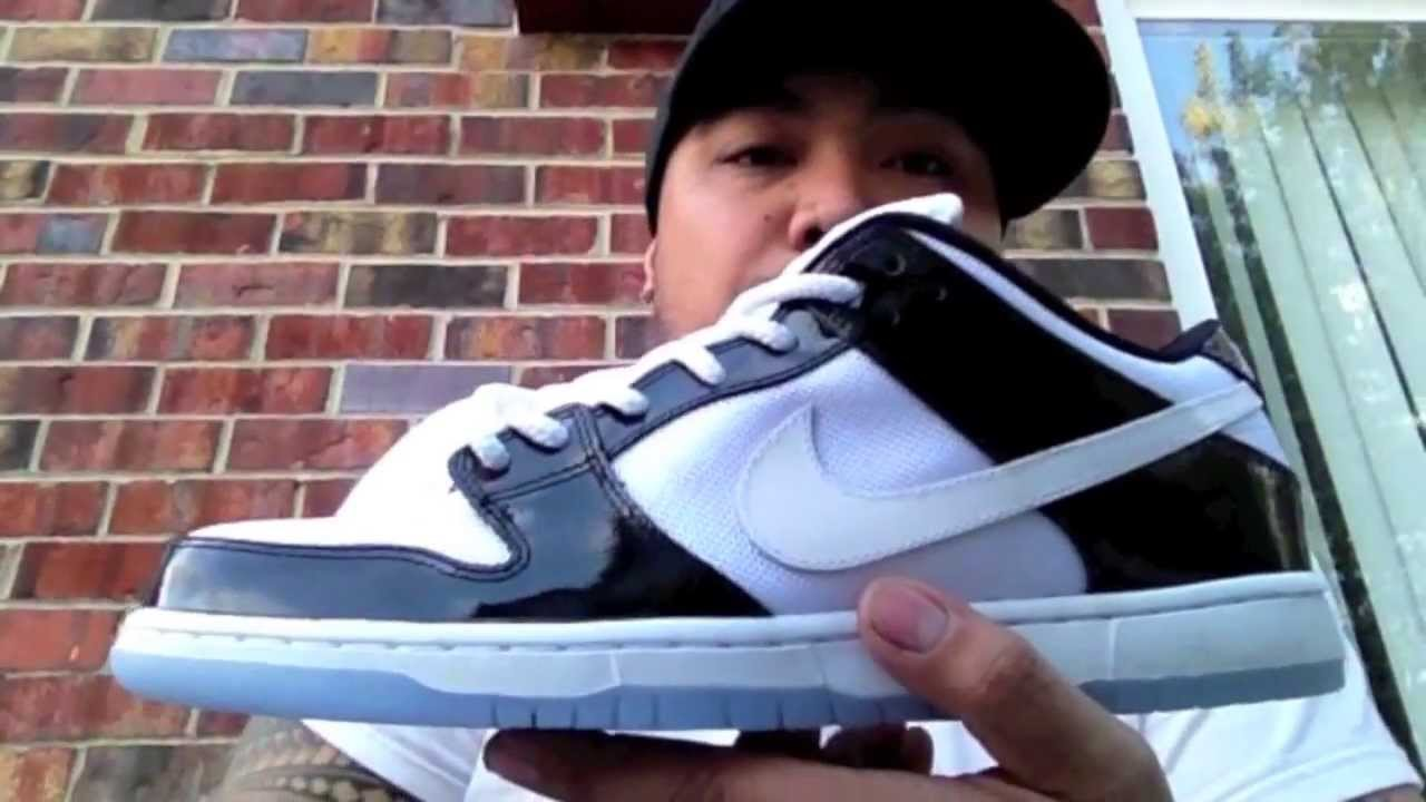 e532002aa321fc Nike Dunk Low SB Concord Review   On Feet - YouTube