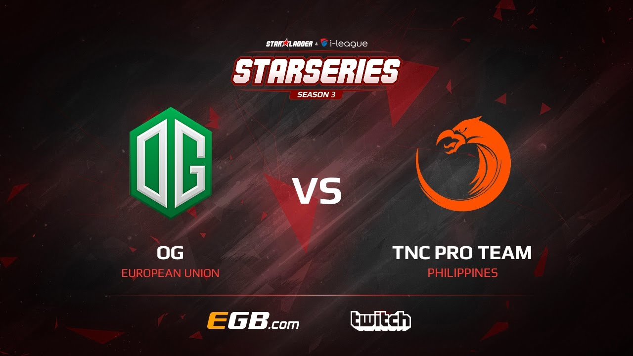 OG vs TNC Pro Team, Game 1, SL i-League StarSeries Season 3, LAN-Final