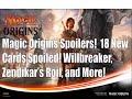 Magic Origins Spoilers! 18 Cards Spoiled! Willbreaker, Zendikar's Roil, and More..MTG