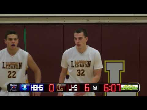 YCN Game of the Week: Hollis-Brookline Vs Lebanon Boys Basketball 1/19/18 First Quarter