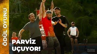 Parviz, Yasin'e Karşı!   Survivor Ünlüler Gönüllüler