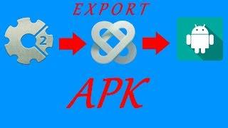 уроки по Construct 2 (экспорт игры в APK через cocoon.io)