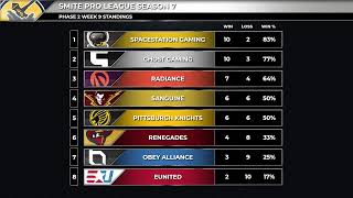 SMITE Pro League: Phase 2 Week 8 Day 1