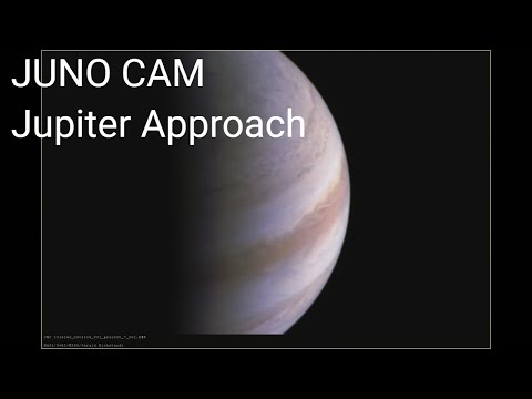 JUNOCAM: The Marble Movie - NASA Juno Spacecraft time lapse video of Jupiter